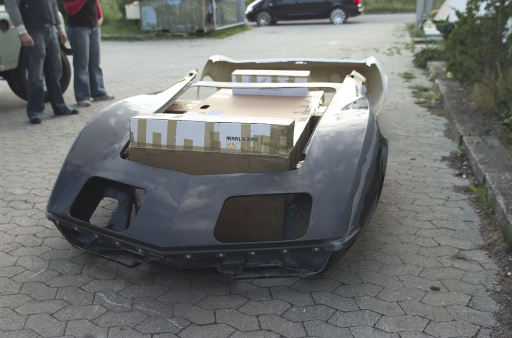 Front Clip Fiberglass Replacement Corvetteforum